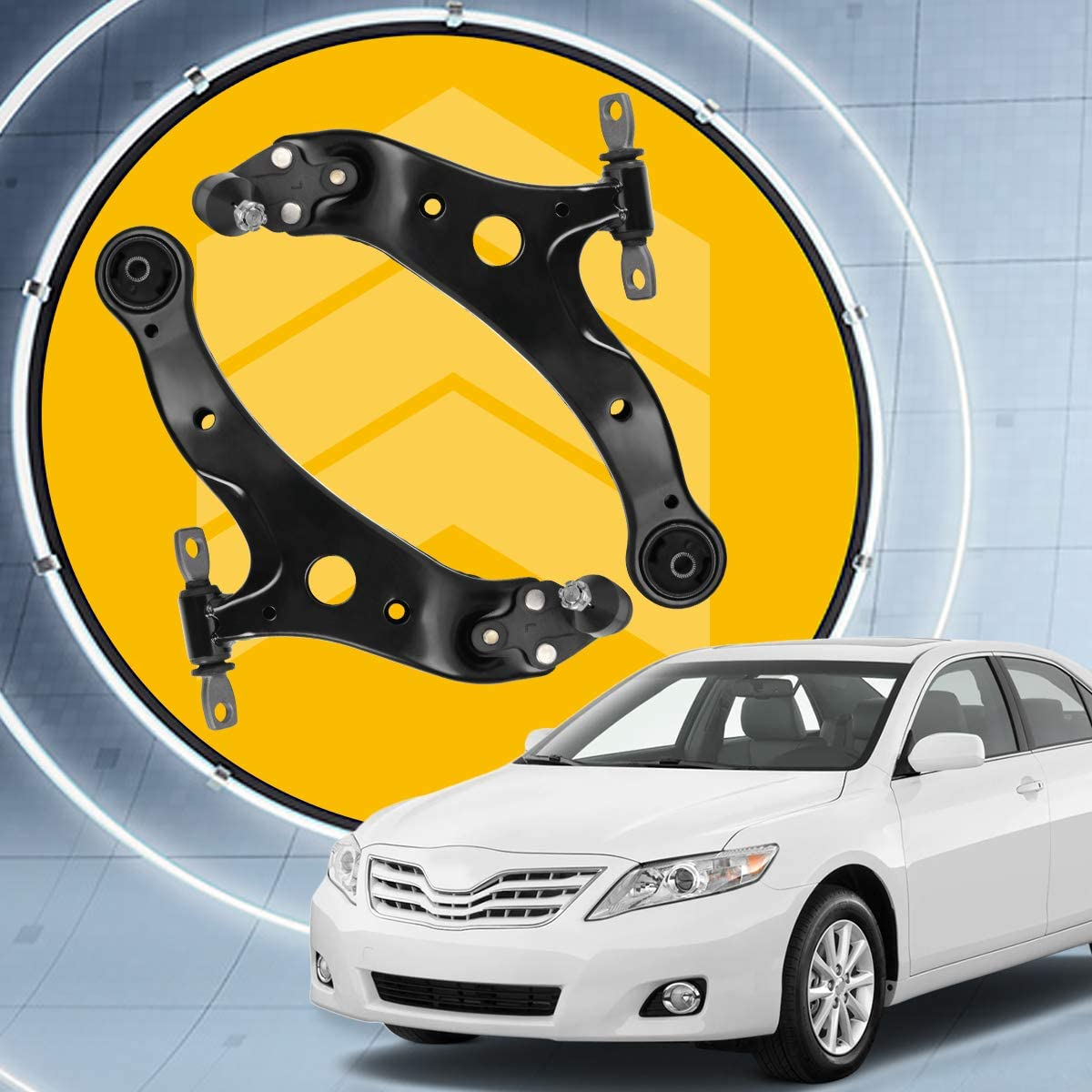 Front Lower Control Arm w//Ball Joint Assembly for 2002-2011 Lexus ES300 ES330 ES350 RX330 RX350 RX400h 2001-2011 Toyota Avalon Camry Highlander Solara