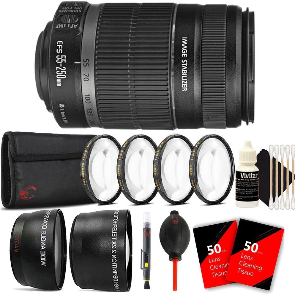 Canon Ef S 55 250 Mm F 4 5 6 Is Ii Objektiv Für Canon Kamera