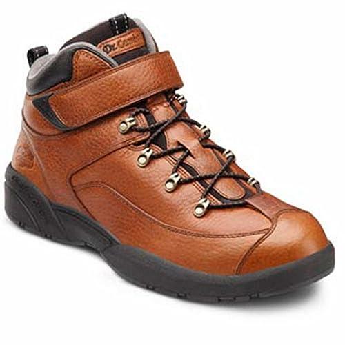 Dr. Comfort Men's Ranger Chestnut Diabetic Hiking Boots