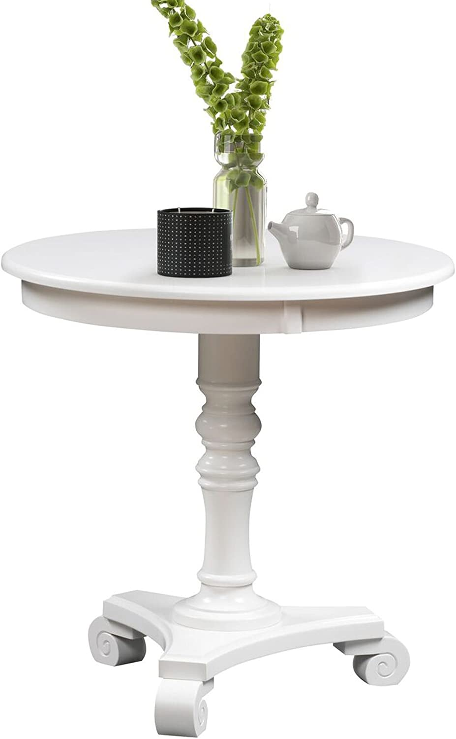 Convenience Concepts Classic Accents Talbot End Table, White