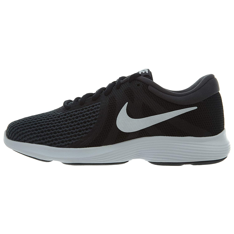 Noir blanc-anthracite Nike WMNS Revolution 4, Chaussures de Running Compétition Femme 8 B(M) US