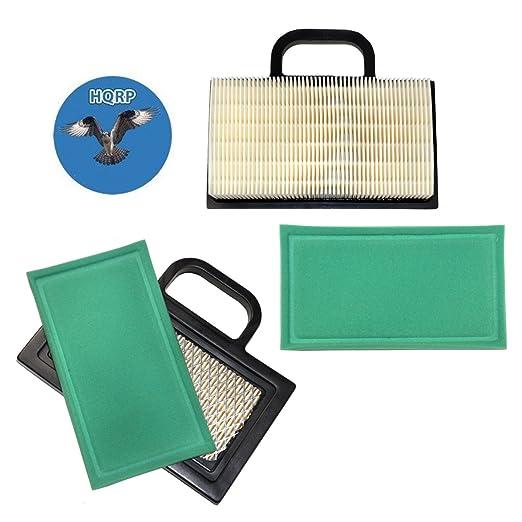 HQRP 2-Pack cartucho de filtro de aire Kit (W/pre-cleaner ...