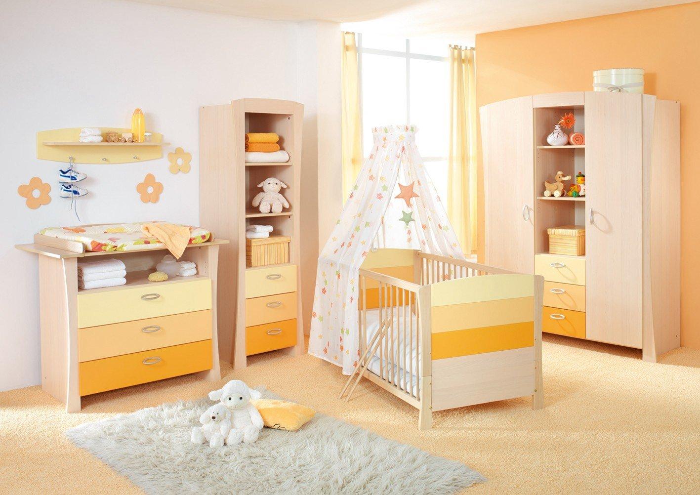 Geuther 1128 3-tlg. Kinderzimmer Sunset mit 3-tlg. Schrank