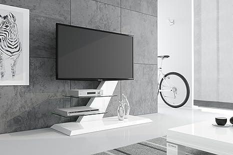 HU Fernsehtisch HZ-111 Hochglanz TV Möbel TV Rack LCD inkl. TV ...