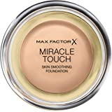Max Factor Miracle Touch Foundation 60 Sand, 1er Pack (1 x 12 ml)