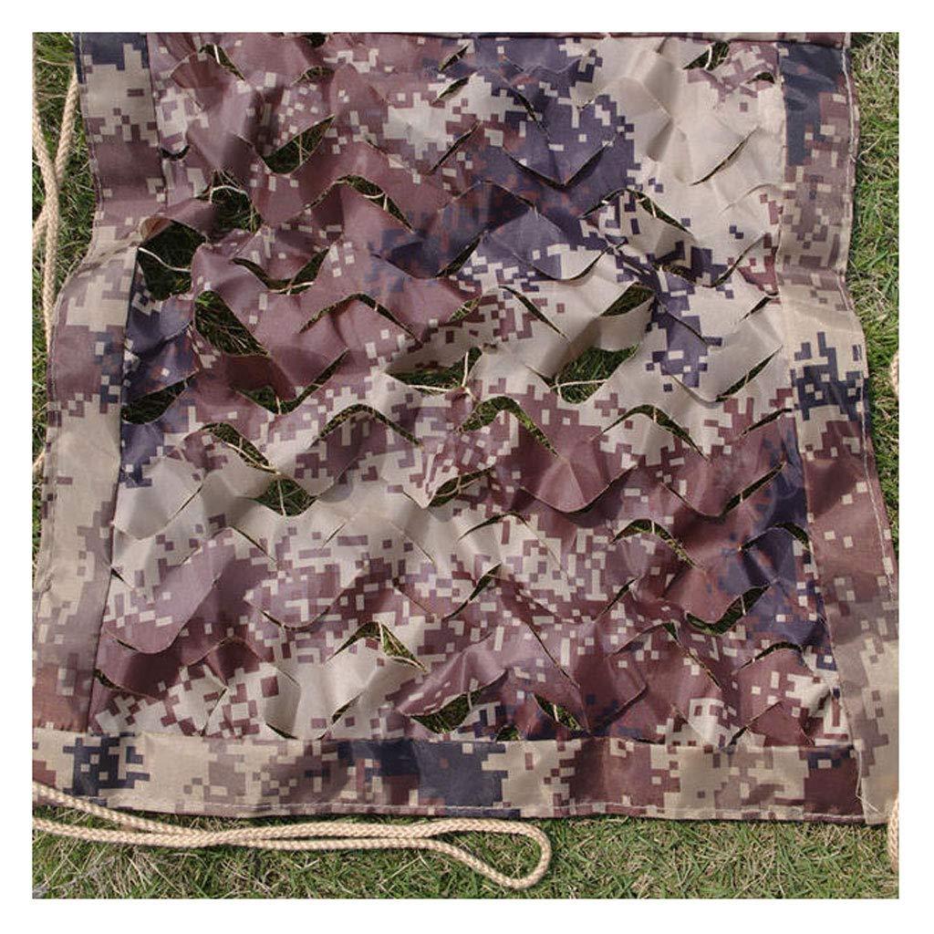 迷彩太陽ネット 砂漠のカモフラージュネット、屋外キャンプのための軍事迷彩ネットシューティング射撃 (Size : 5*5m) B07TFGSYGH  5*5m