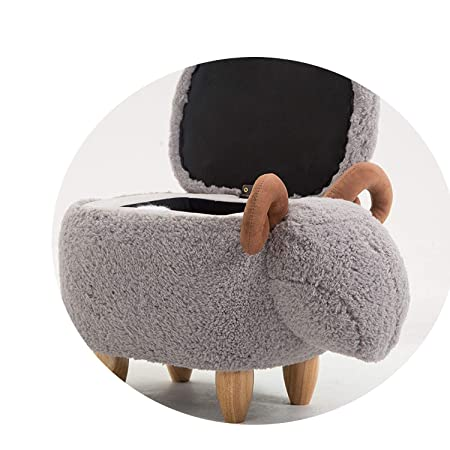 Admirable Storage Box Organizer Washable Sheep Stool Footstool Pabps2019 Chair Design Images Pabps2019Com