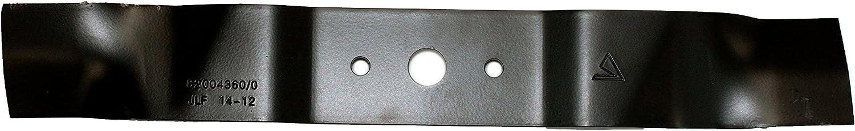 Mountfield 182004360/0 - Cuchilla para cortacésped de mano derecha, 83 pulgadas, original, diseño de jardín de pastel, color gris