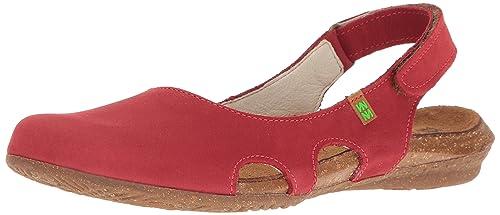 El Naturalista S.A N413 Pleasant Wakataua, Women's Closed Toe Sandals, Red  (Tibet)