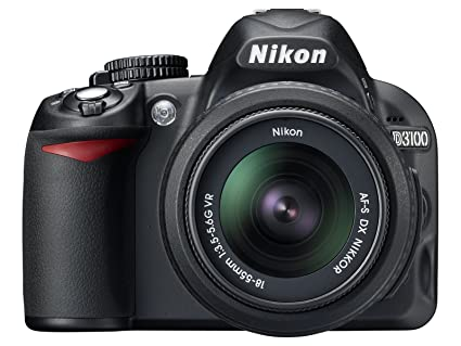 Nikon D3100 14.2MP Digital SLR Camera with 18-55mm f/3.5-5.6 VR & 55-200mm f/4-5.6G IF-ED AF-S DX VR Nikkor Zoom Lenses Digital SLRs at amazon
