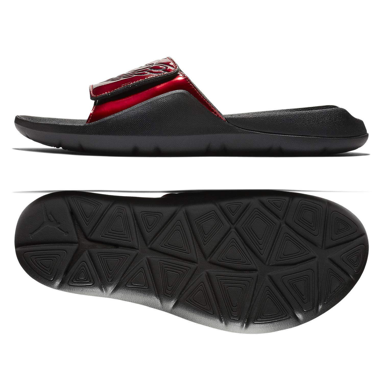 Nike Men's Jordan Hydro 7 Slide Sandals, AA2517 (9 D(M) US, Gym Red/Black)