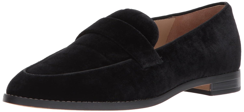 Black Velvet Franco Sarto Women's HUDLEY Loafer Flats