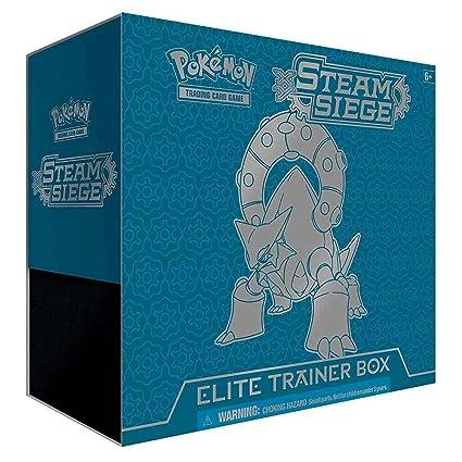 Losse kaarten Pokemon XY Steam Siege Elite Trainer Box Verzamelingen