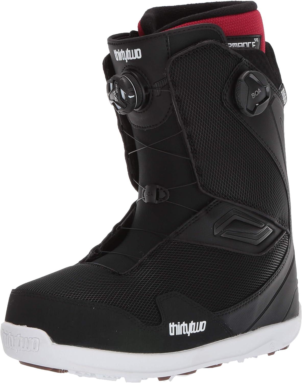 tm-2 stevens snowboard boots white brown black