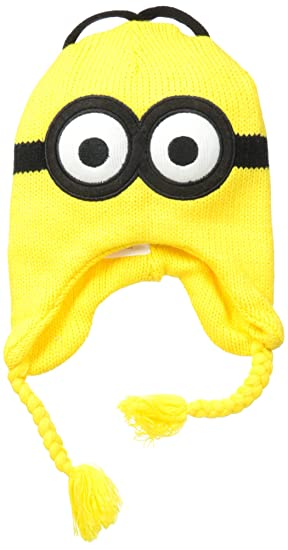d93b9dc8cc90e Accessory Innovations Boy s Despicable Me Minion Time Reversible Laplander