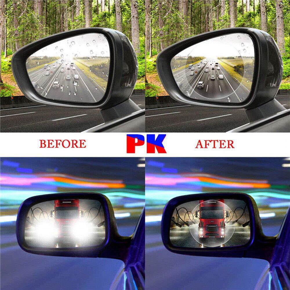 TOOGOO 2PCS Rainproof Car Rearview Mirror Waterproof Anti Fog Rain Proof Coating Film Covers rain Blades Sticker