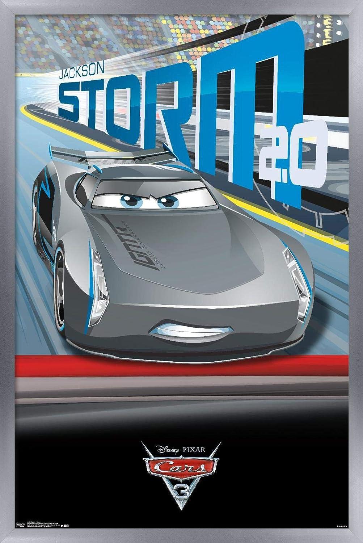 Amazon Com Trends International Disney Cars 3 Jackson Storm Wall