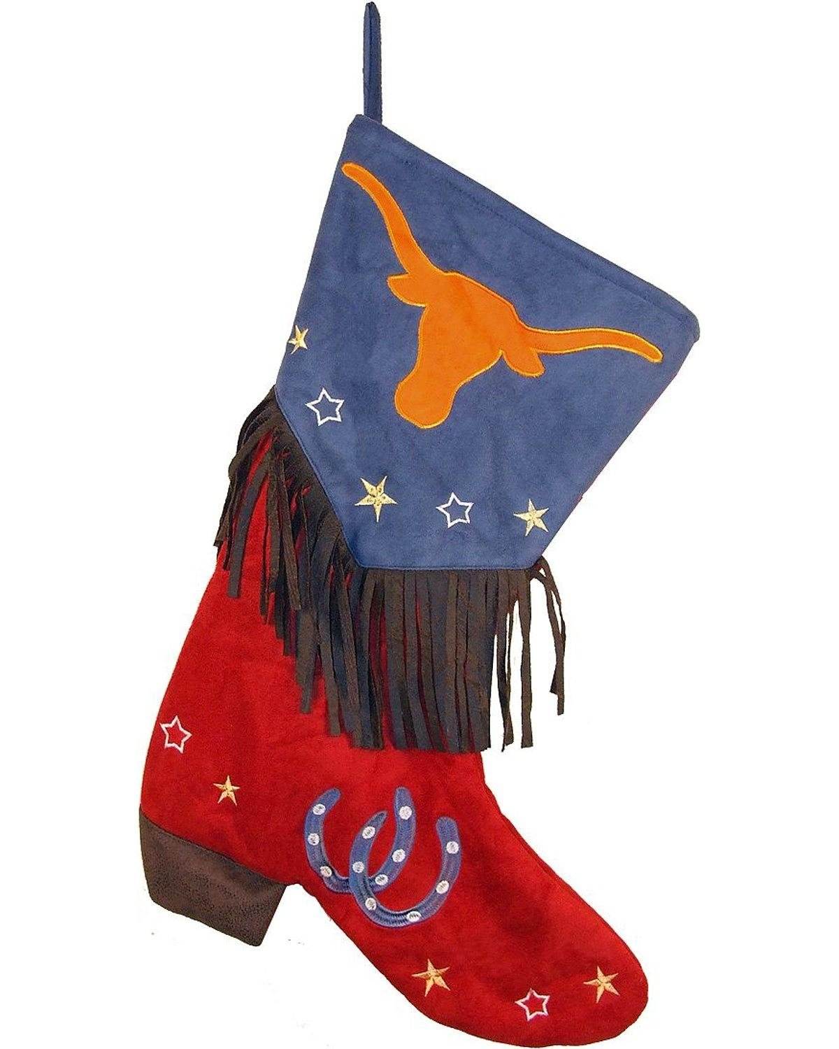 Carstens Longhorn Christmas Stocking JX110