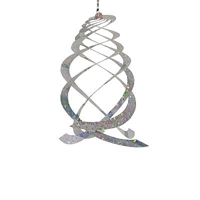 In the Breeze Jewel Crystal Spinner - Reflective Hanging Decoration - Bird & Animal Deterrent : Garden & Outdoor