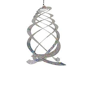 In the Breeze Jewel Crystal Spinner - Reflective Hanging Decoration - Bird & Animal Deterrent