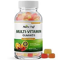 Multivitamin Gummies for Women and Men - Chewable Gummy Zinc Supplement Multi-Vitamin...