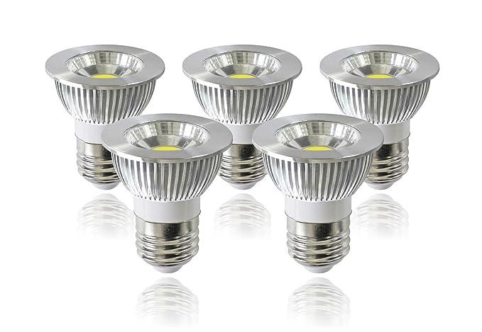 ANC luz foco regulable bombilla LED, COB E26 Base 90 ángulo de haz grado,