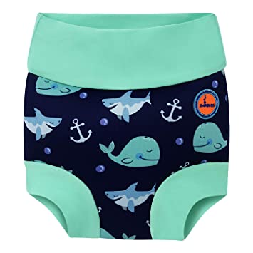 3364429e8b Baby Swimming Nappy Kids Reusable Swim Diaper Girls Costume Boys Swimshorts  (24-36 Months