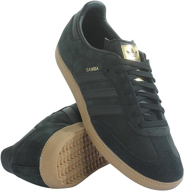 adidas Samba Mens in Core BlackBlackGold Metallic