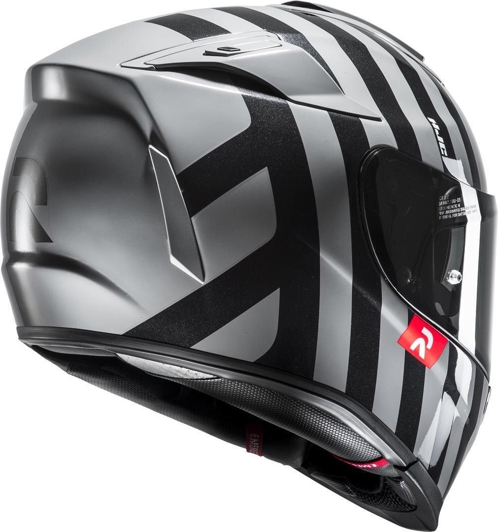 Taille S Noir//Blanc HJC Casque Moto RPHA 70 Forvic MC5