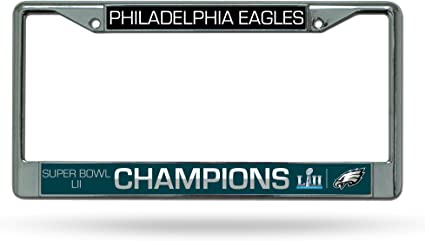 Rico NFL Eagles Plastic Frame 15 x 8 Logo Color