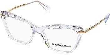 Dolce&Gabbana DG5025 Eyeglass Frames 3133-53 - Crystal DG5025-3133-53