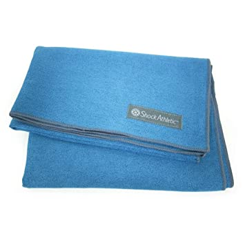 Shock Athletic Yoga Towel Mat *Protected with Microban ...