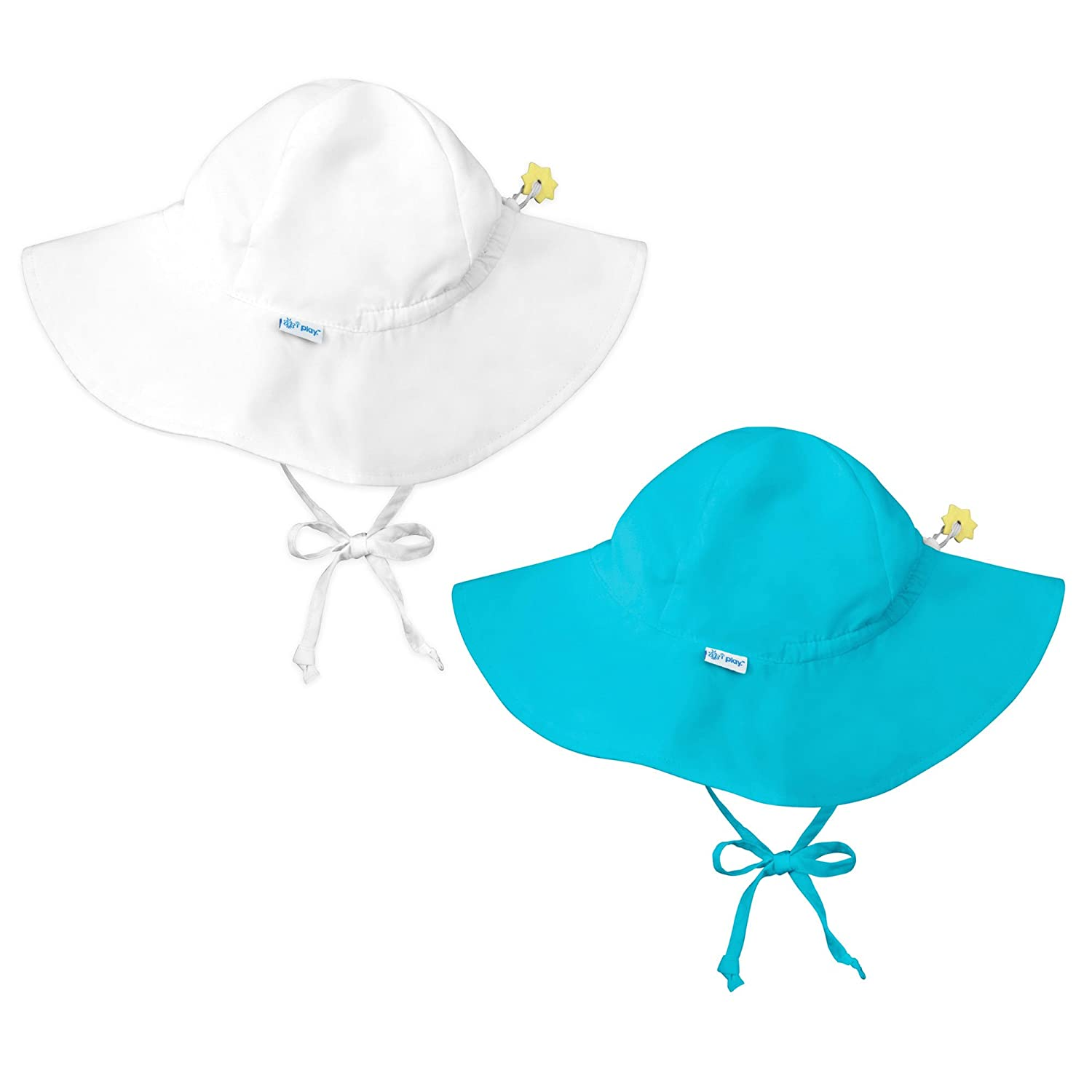Sun Protection Swim Hats Beach Hats Baby /& Toddler Brim Sun Hats UPF 50 i play..