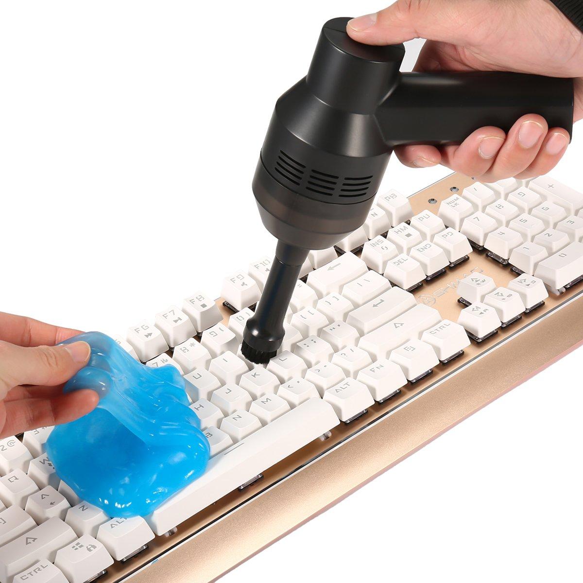 MECO 4 Unids Gel Limpiador de Polvo para Teclado PC Ordenador Portátil Control remoto: Amazon.es: Oficina y papelería