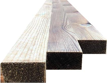 1.5 Metre Pack of 5 25mm x 50mm Wooden Batten Treated Timber Battens
