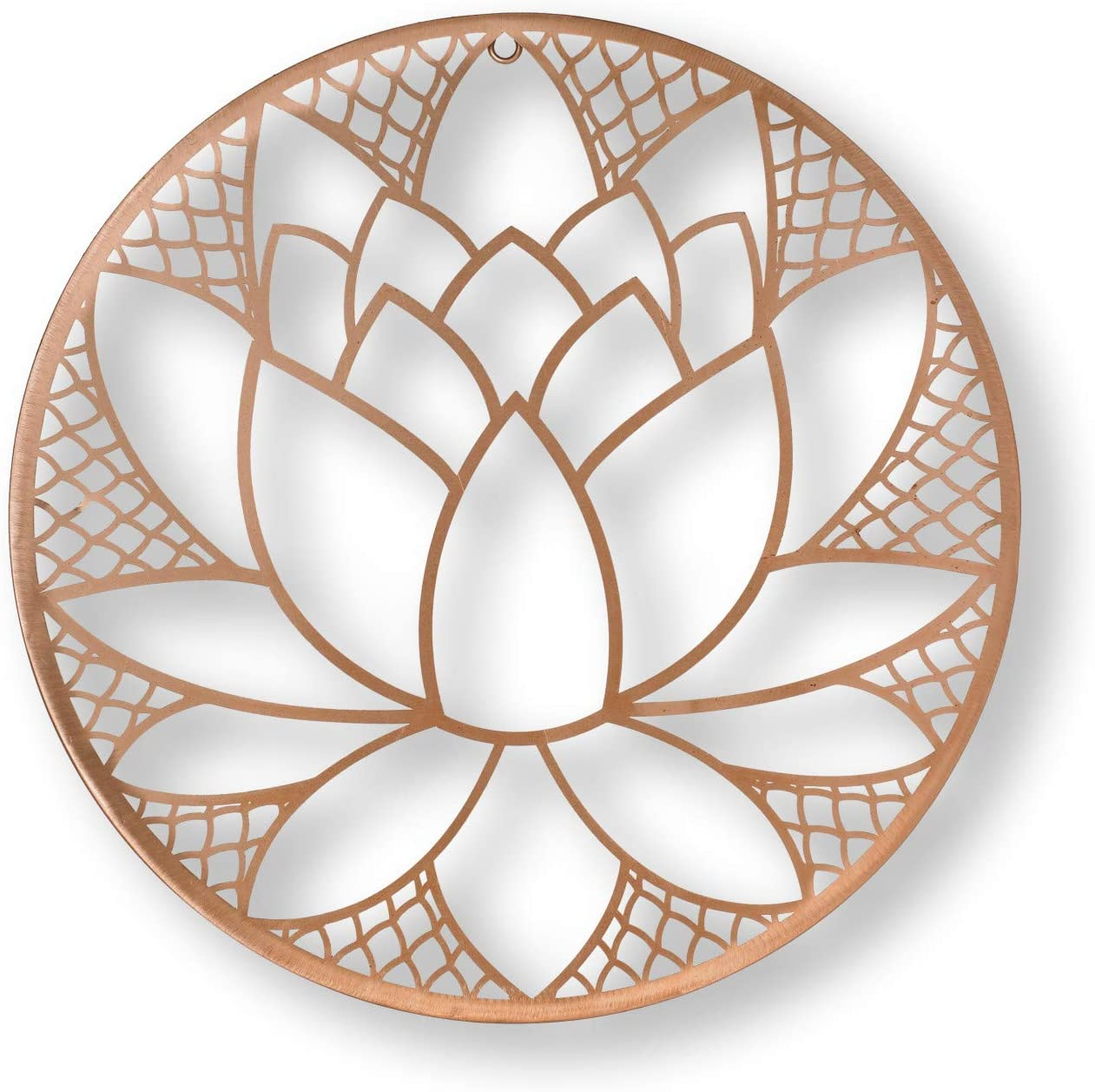 Graham & Brown Copper Lotus Blossom Wall Art