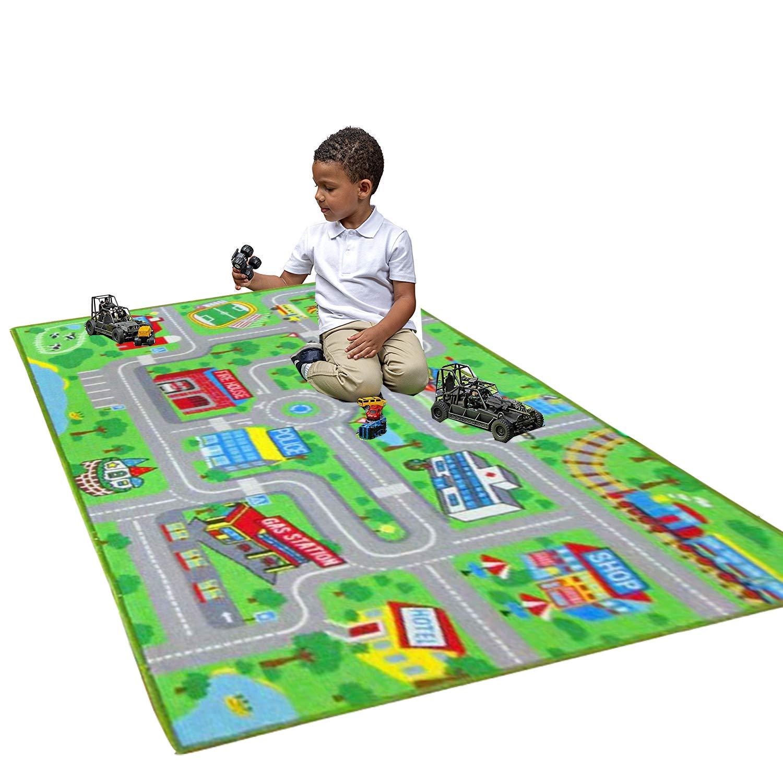 Amazon.com: HEBE - Alfombra de área para niños, sistema ...