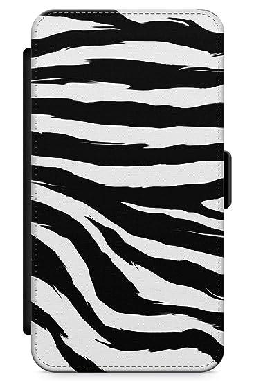wholesale dealer 7ea81 142fc Case Warehouse iPhone 6 Case, iPhone 6s Case Black Zebra Print Phone Case  Premium Leather Flip Wallet Card Holder Slots   Animal Print Cat Wild Zebra  ...