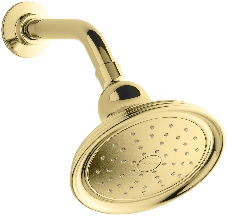 (Brass) Kohler K45413PB Devonshire Single-Function Katalyst Spray Showerhead, 2.0-GPM, Polished Brass Vibrant Polished Brass Vibrant Polished Brass B006FYFR0S