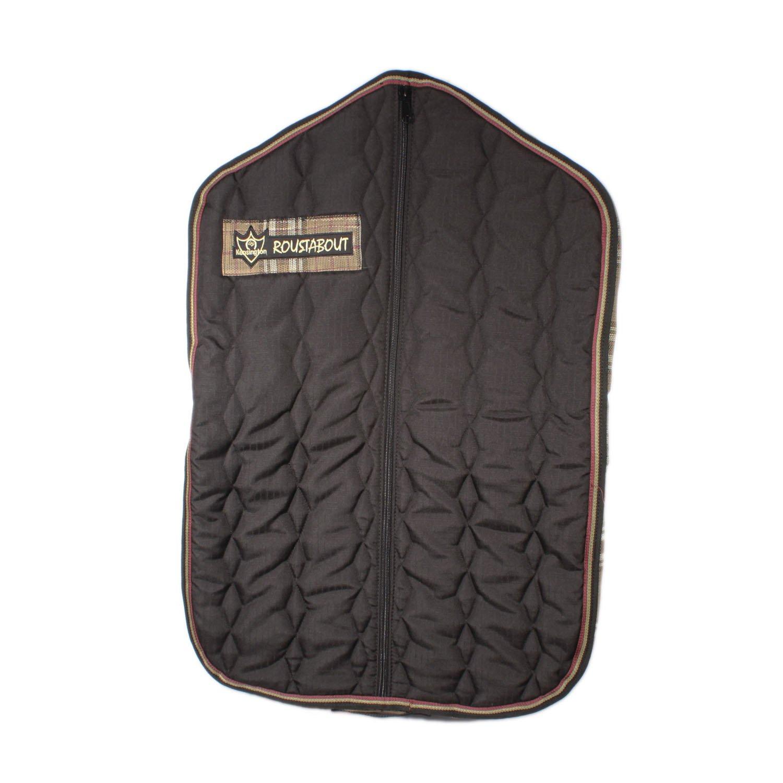 Kensington KPP Roustabout Garment/Chap Bag Blue Ice Plaid One Size KCCB141