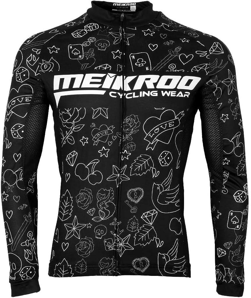 B Baosity Damen Fahrradtrikot Langarm Radtrikot Radshirt Fahrradshirt Outdoor Sport MTB Fahrradbekleidung