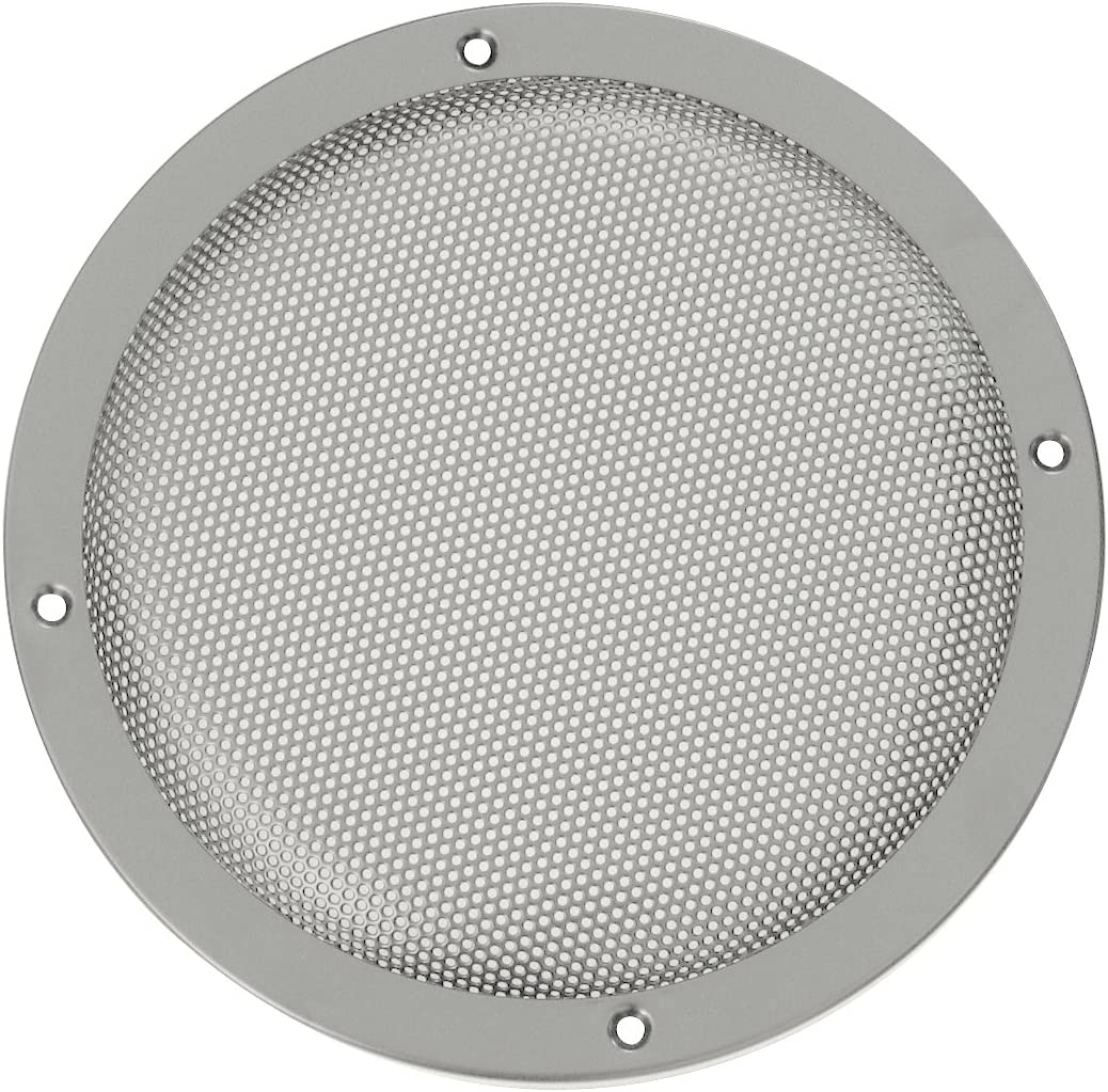 Lautsprecherziergitter Hifi 200 Mm Silber Elektronik