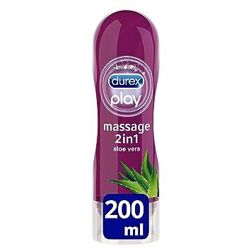 Durex Play Lubricante Massage Aloe Vera - 20 cl: Amazon.es: Amazon Pantry