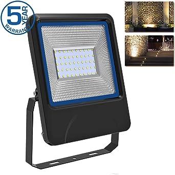 Foco Proyector LED 50W Focos LED de Exterior 3030 LED Chip 5500lm ...