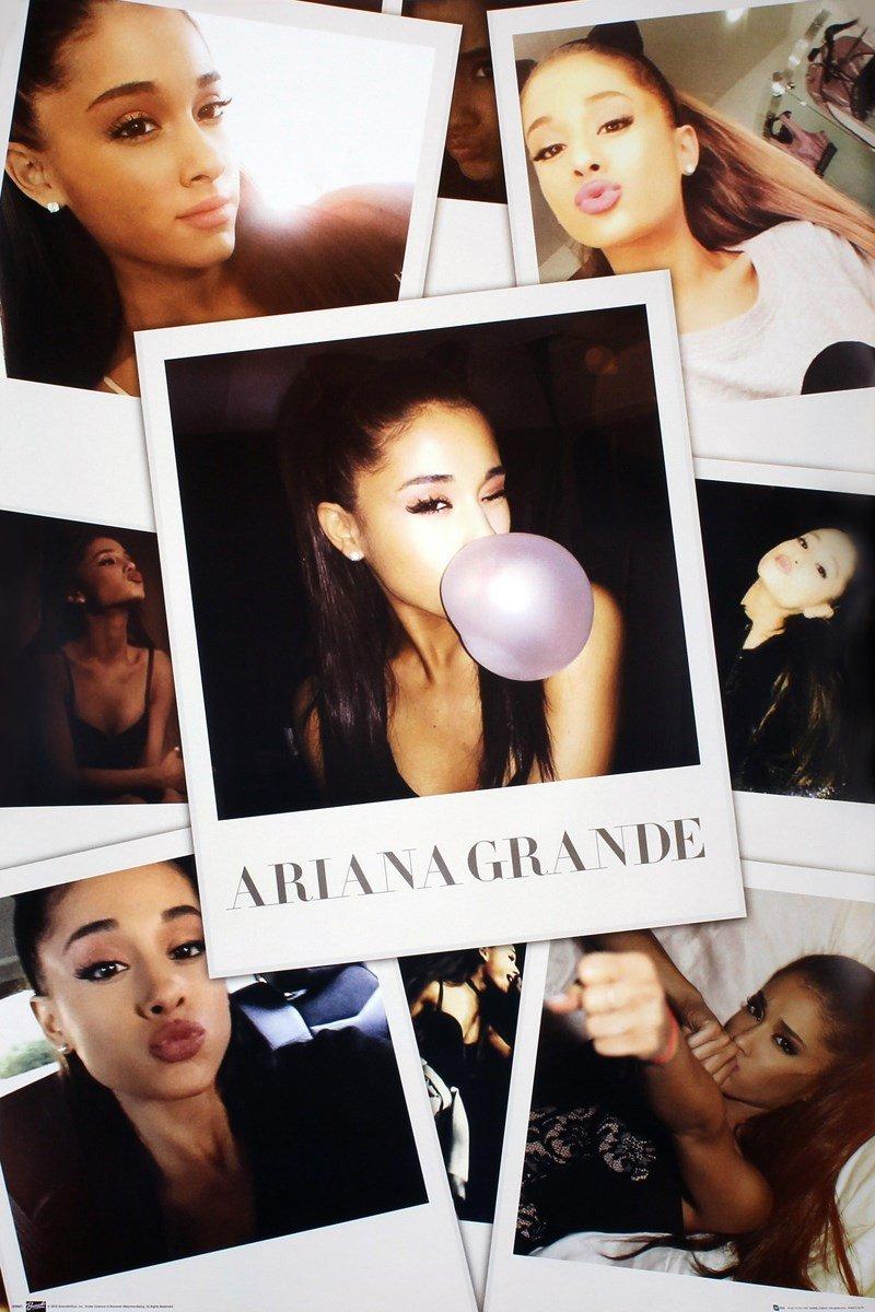 GB eye Ariana Grande, Selfies, Maxi Poster, (61x91.5cm), Wood, Various, 65x3.5x3.5 cm LP2021