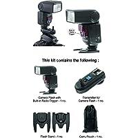 Sonia Camera Flash Speedlite Speedlight VT631RF with inbuilt Radio Trigger and Transmitter for Nikon, Canon, Sony, Olympus, Pentax & all other DSLR Cameras GN42