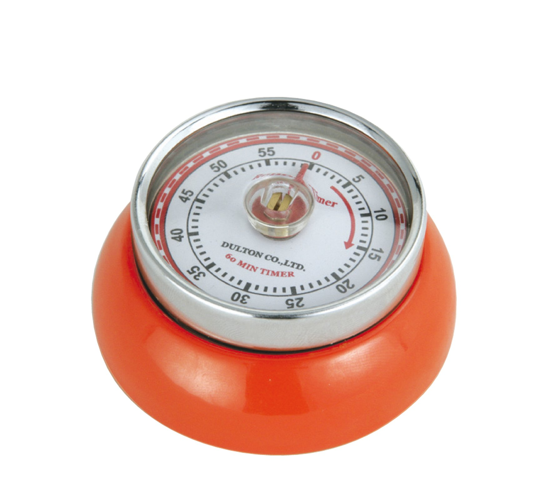 Zassenhaus M072389 Retro Kitchen Timer Magnetic, orange by Zassenhaus