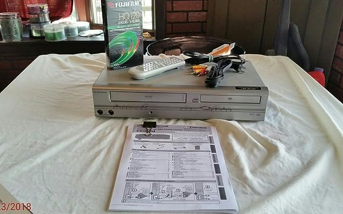 Review Emerson EWD2004 DVD+VCR Combo
