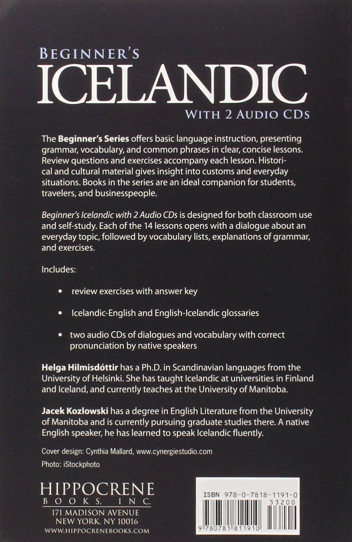 Beginner's Icelandic with 2 Audio CDs (Hippocrene Beginner's) by imusti