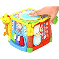 Kiddale Play and Learn Activity Cube (Multicolour)